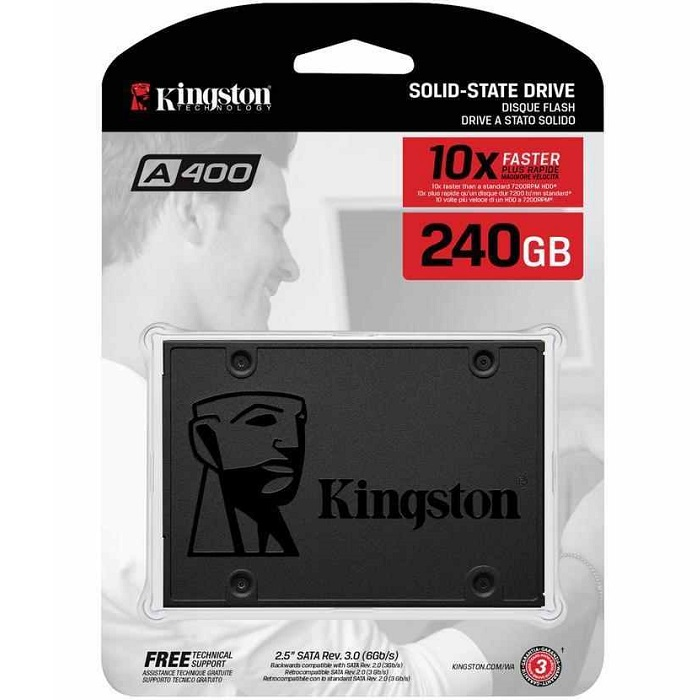 H.D. SSD 240GB KINGSTON SA400S37/240G