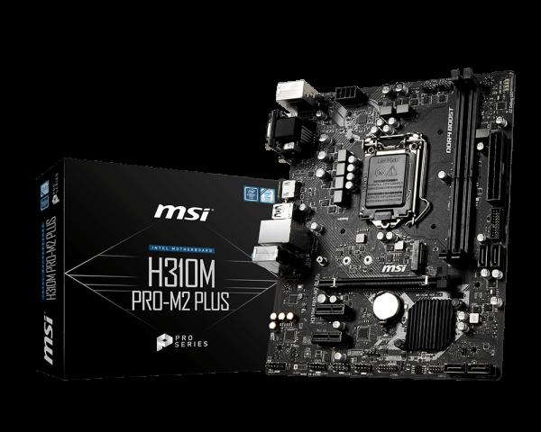 PLACA BASE MSI H310M PRO-M2 PLUS LGA1151