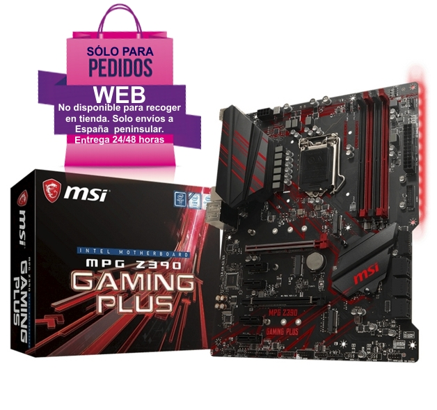 PLACA BASE MSI MPG Z390 GAMING PLUS